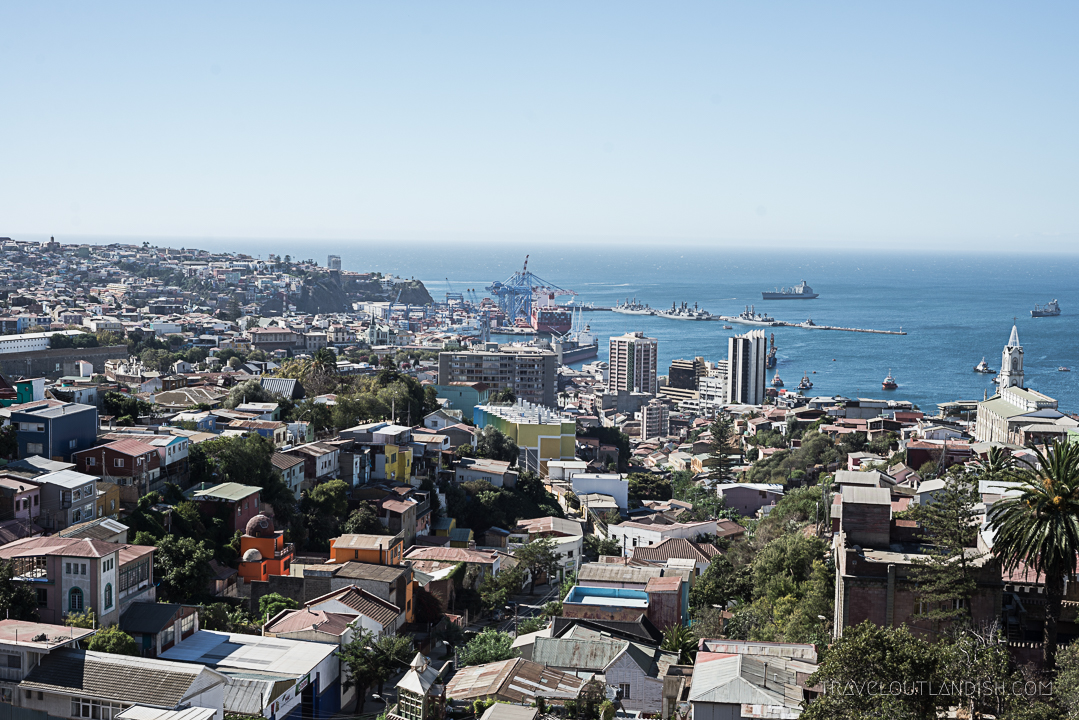 Photos of Chile - Valparaiso City View