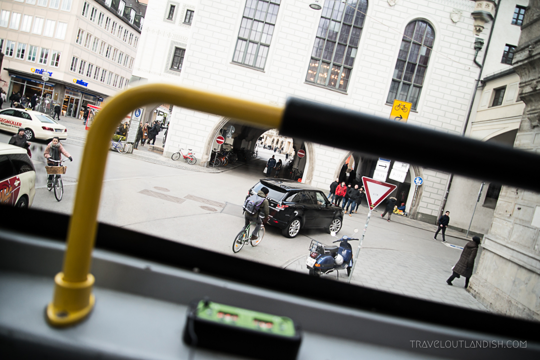 Munich Sightseeing Bus - Street Photography
