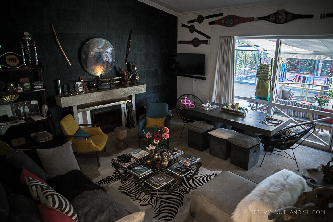 Lucky's Guesthouse - Living Room