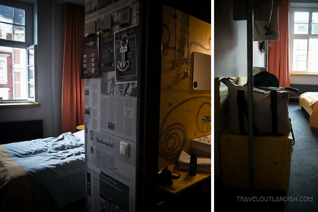 Hostels in Hamburg - Inside the Rooms at Superbude St. Pauli
