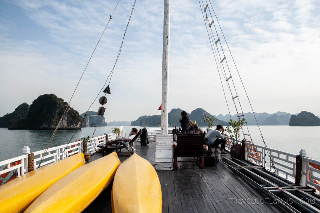 Bai Tu Long Bay Cruise - Top Deck