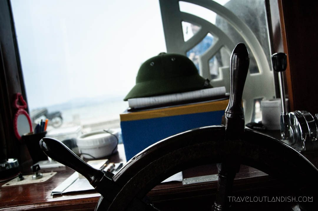 Bai Tu Long Bay Cruise - Captain's Seat