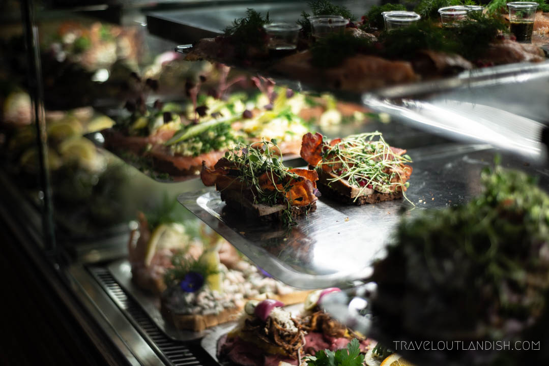 Fun Things to do in Copenhagen - Smørrebrød in Torvellarne