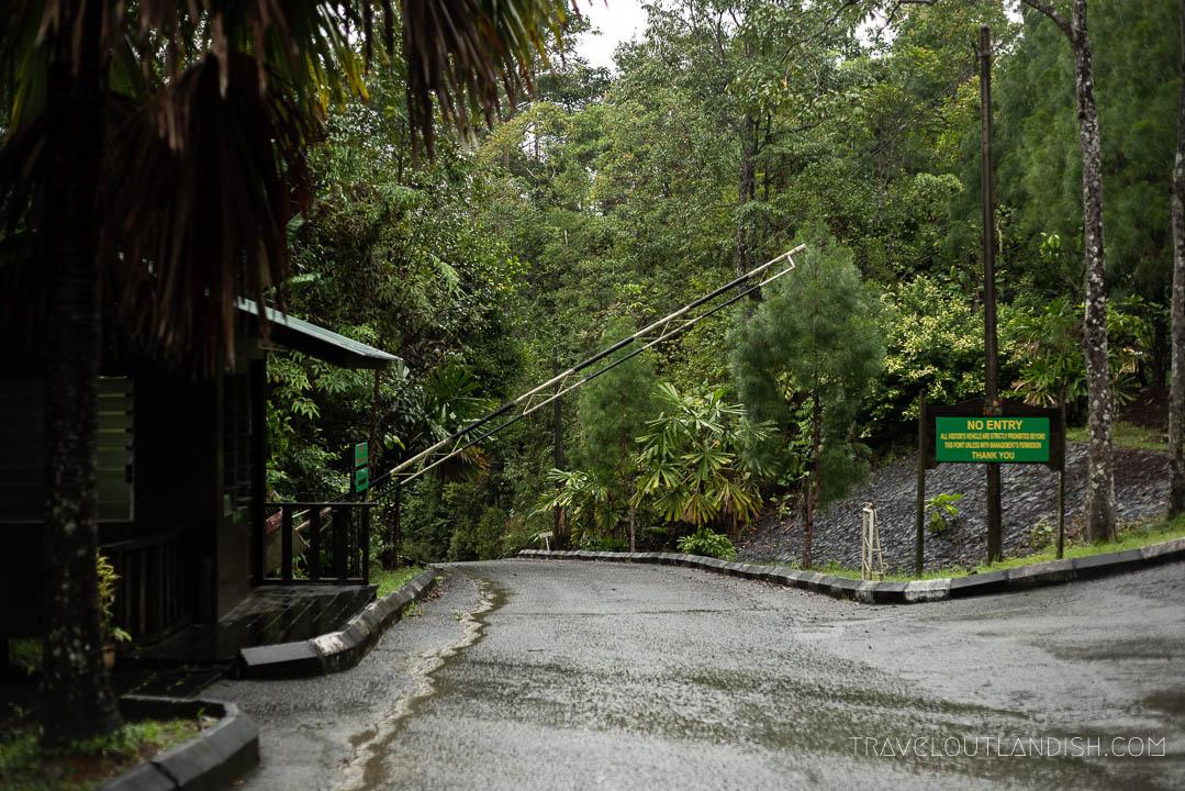 Semenggoh Wildlife Centre - Entrance from Kuching