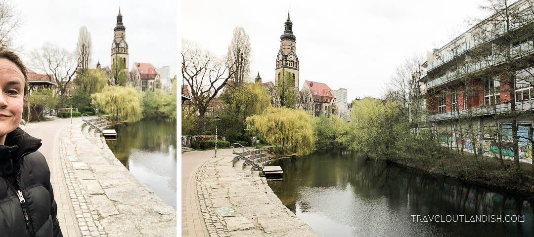 Running the Karl-Heine Kanal in Leipzig
