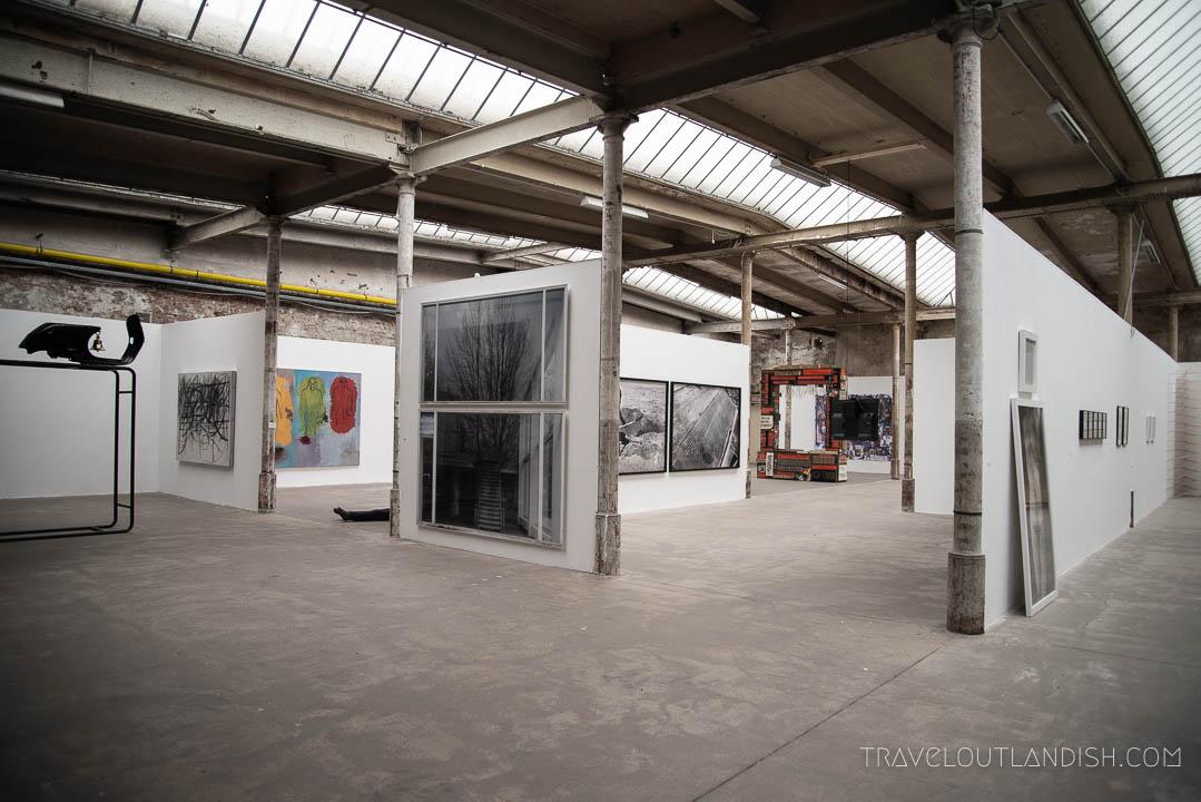 Art Installation at the Leipzig Spinnerei