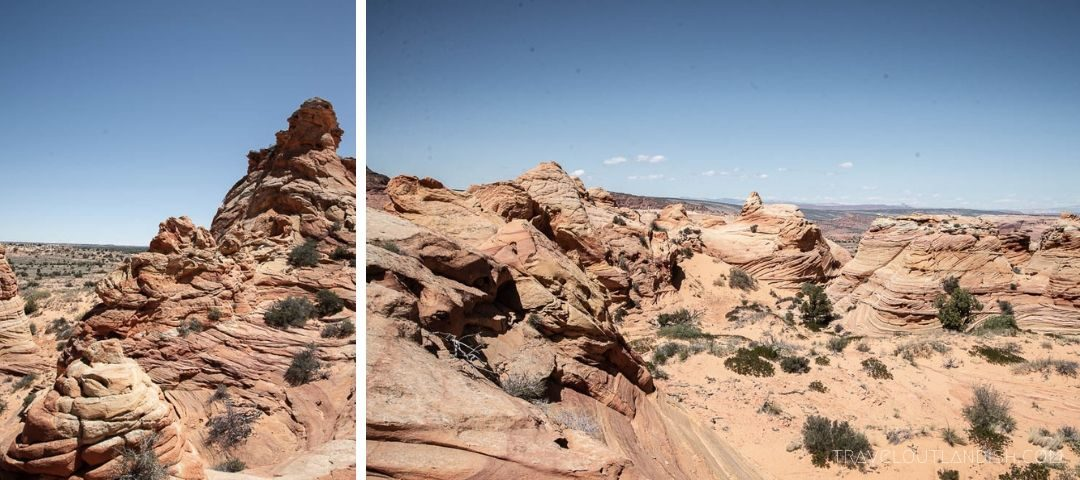 Scenery at Coyote Buttes South
