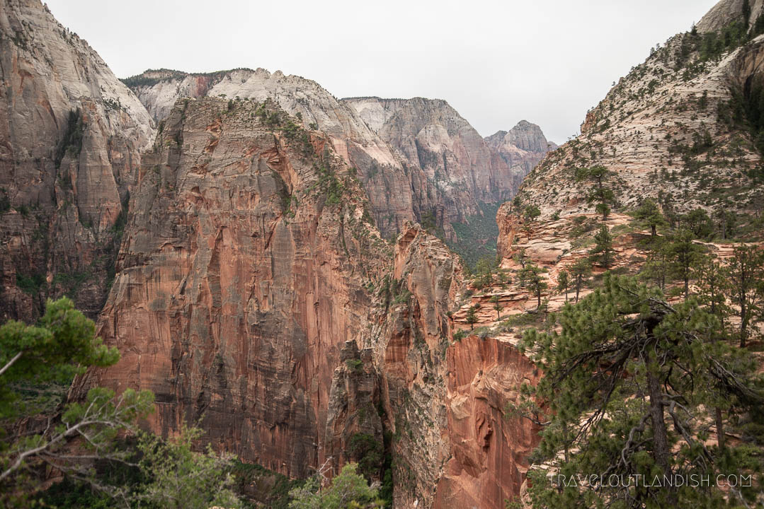 Coming up on Angel's Landing from the West Rim Trail