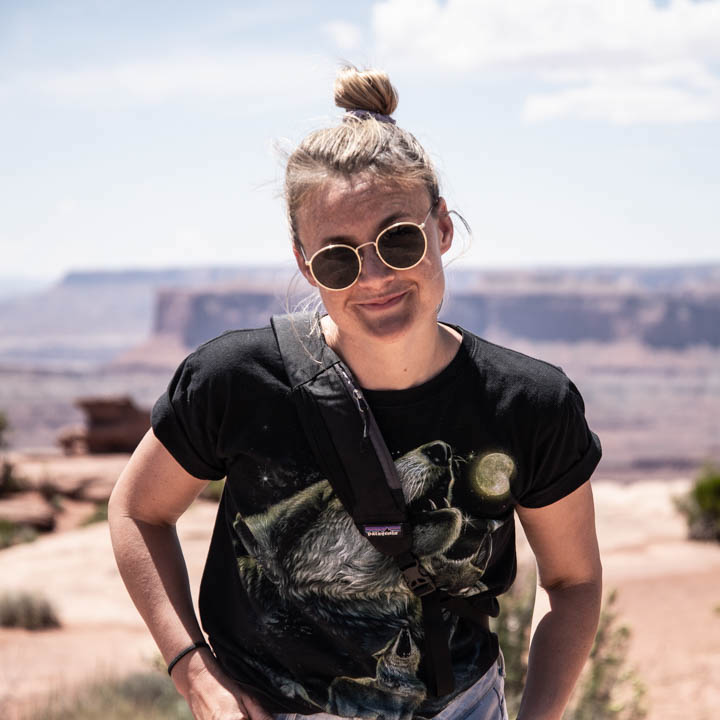 Photo of Taylor at Dead Horse Point State Park