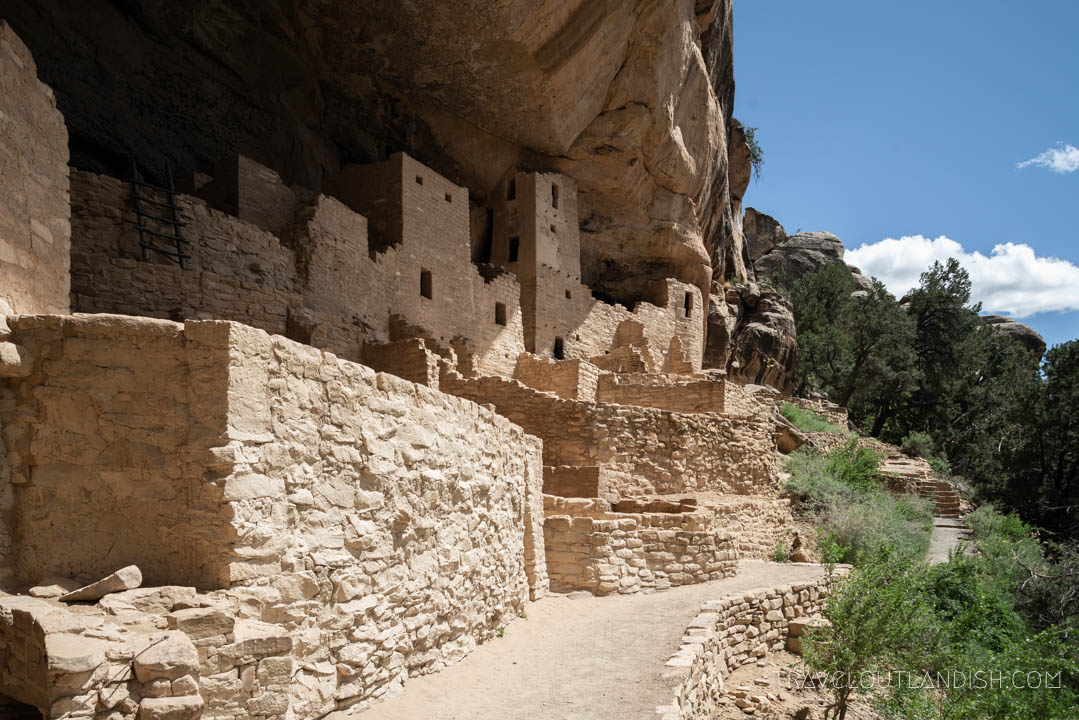 The Cliff Palace at Mesa Verde National Park
