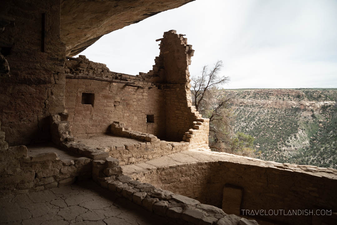 The Balcony House at Mesa Verde National Park