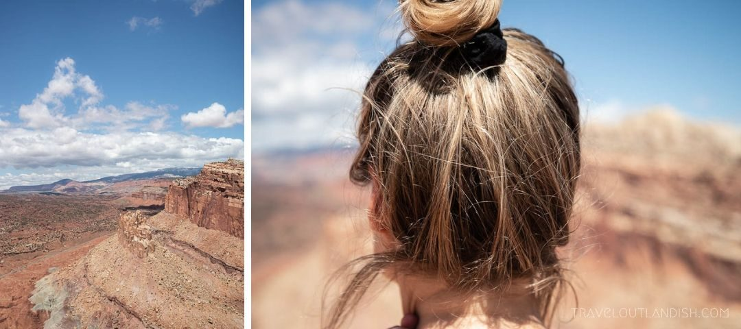 Looking Out Across Capitol Reef National Park