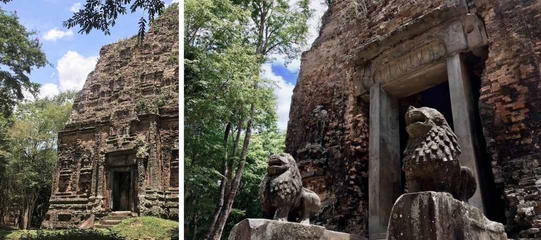 Alternative to Angkor Wat - Sambor Prei Kuk