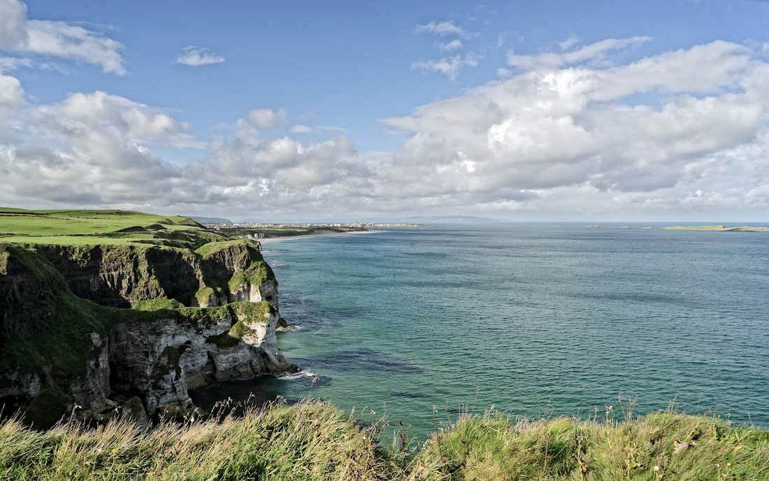 The Causeway Coast in Northern Ireland