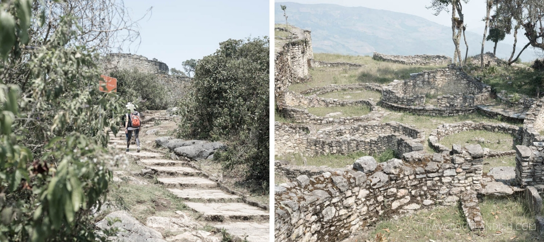 Photos of Kuelap, the fortress at the end of the Trek Gran Vilaya