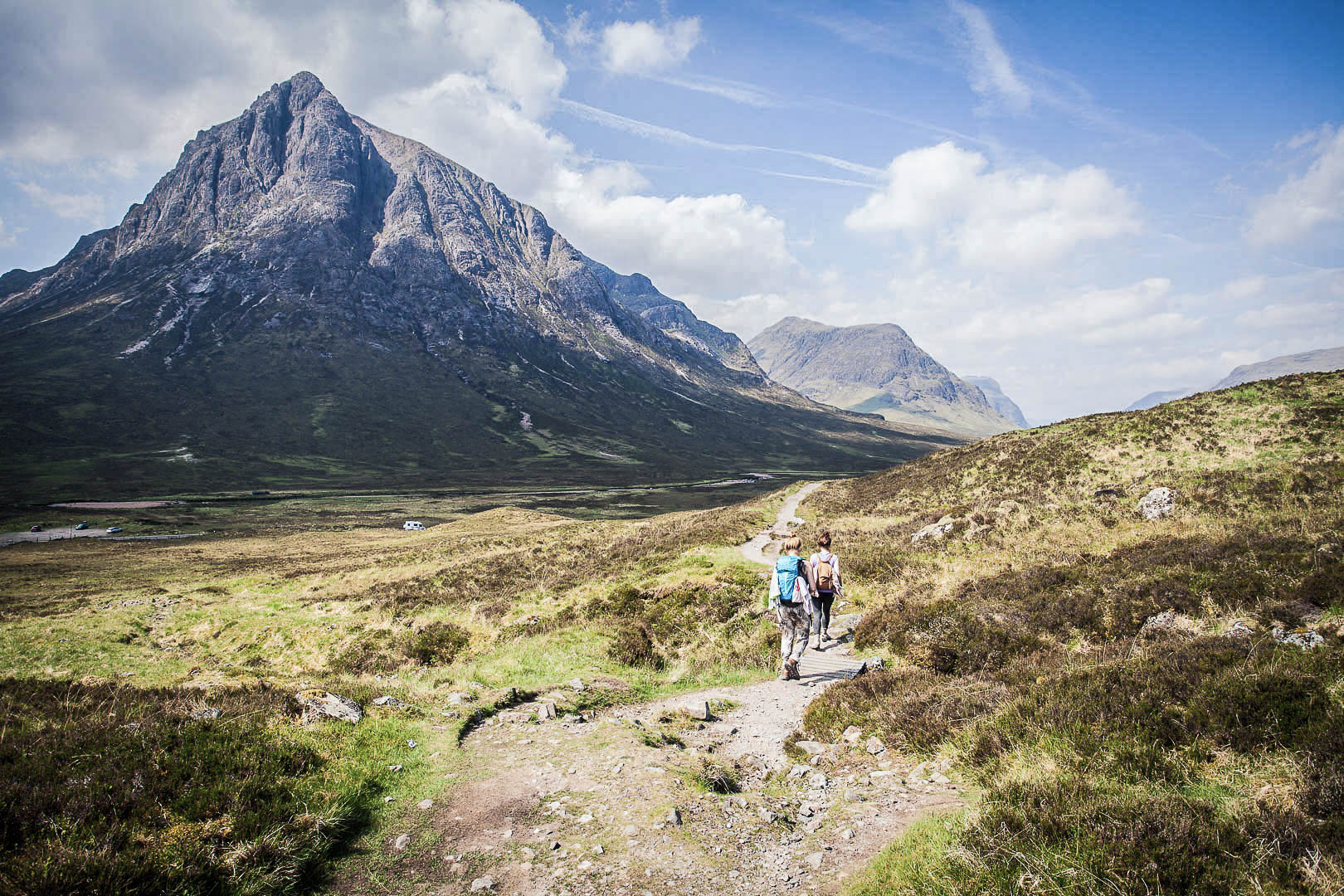 The West Highland Way in Scotland