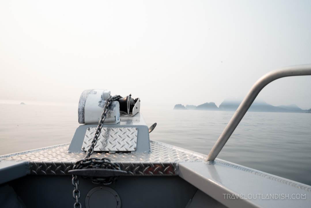 Boat tour in Kenai Fjords National Park