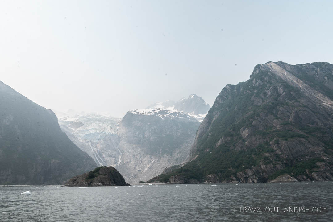 Looking out on the bay at Kenai Fjords