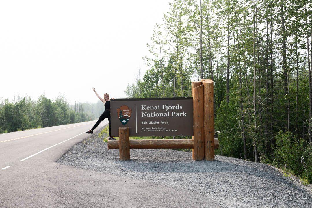 Entrance of Kenai Fjords National Park