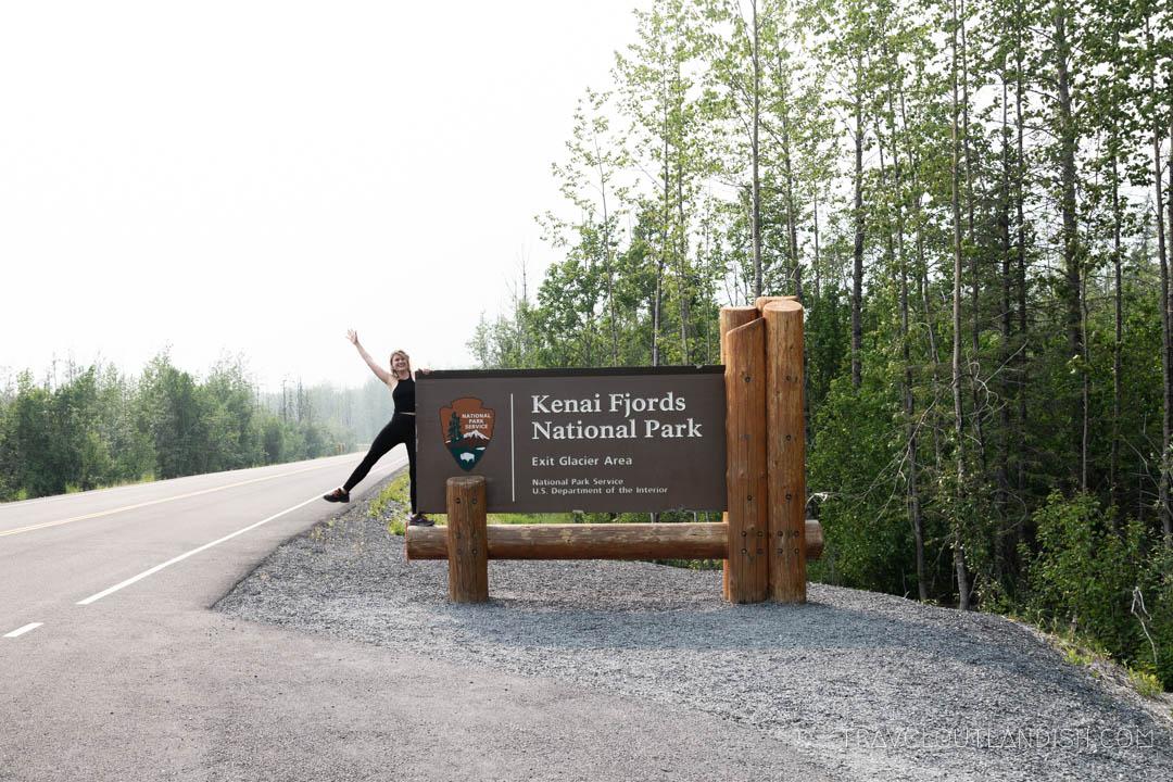 Entrance at Kenai Fjords National Park