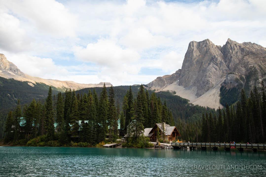 Lakes in Yoho - Emerald Lake Lodge