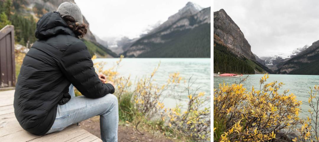 Lakes in Banff - Lake Louise Collage