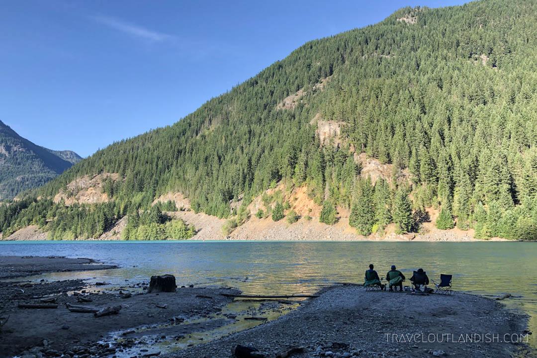 Campsites in North Cascades - Colonial Creek