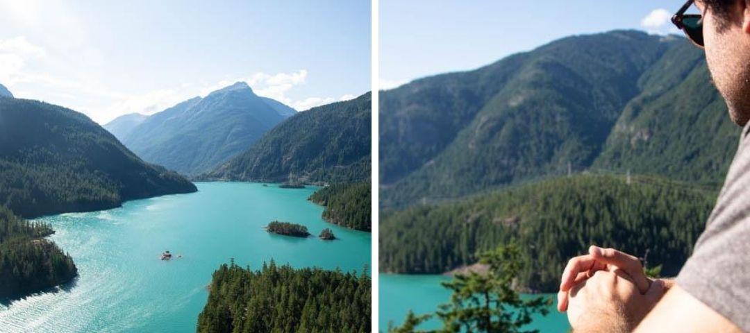 Overlook of Diablo Lake