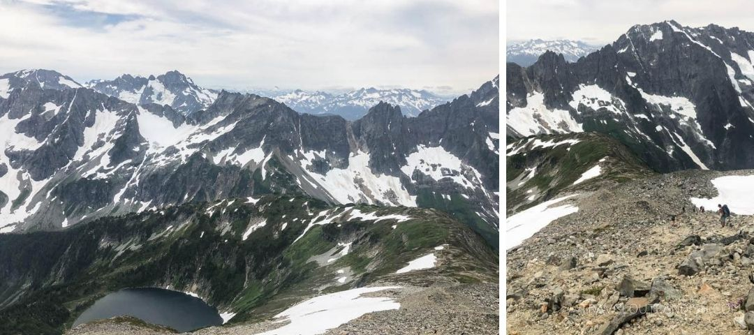 Hikes in North Cascades - Views from Cascade Pass and Sahale Arm