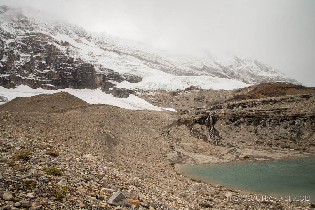 Glacial lakes along Iceline Trail