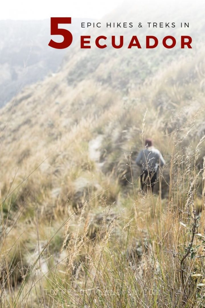 Ecuador is home to crater lakes, volcanoes, and high-altitude summits. Plan your adventure around these five awesome spots for hiking & trekking in Ecuador. Includes info about Rucu Pichincha, Quilotoa Loop, Cotopaxi, and more.