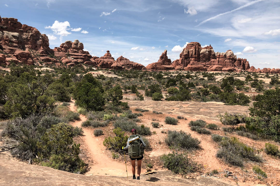Taylor Backpacking the Needles in Canyonlands National Park