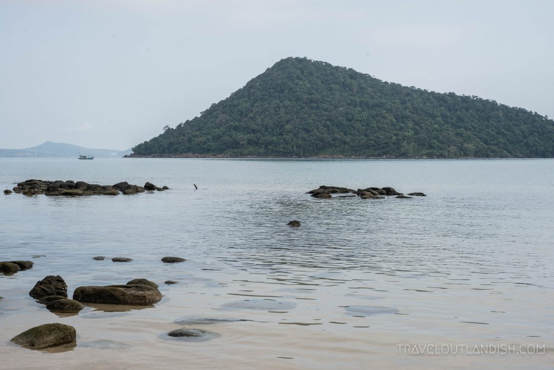 Kayaking on Koh Rong Samloem