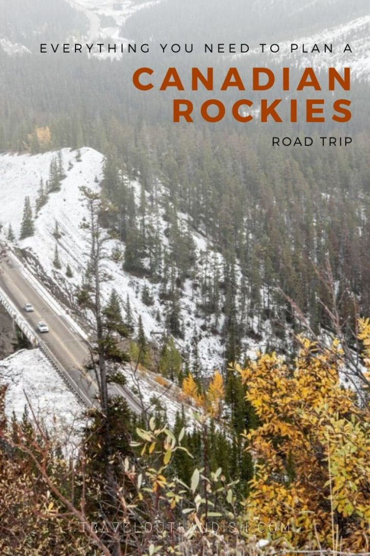 Planning a Canadian Rockies road trip? Here's a complete guide to planning! Inside this post, you'll find tips on how to choose your route including suggested road trip itineraries. You'll also find info like how to make reservations for campsites and backcountry permits, the cost of a Canadian Rockies road trip, how to prepare your vehicle, and more.