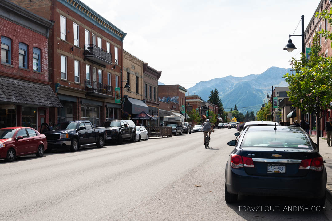 Photo of Fernie town