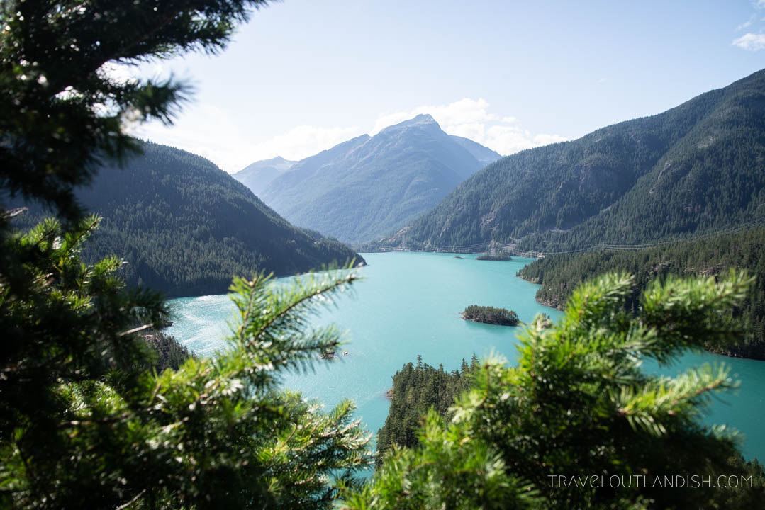 Ross Lake Recreation Area near North Cascades National Park