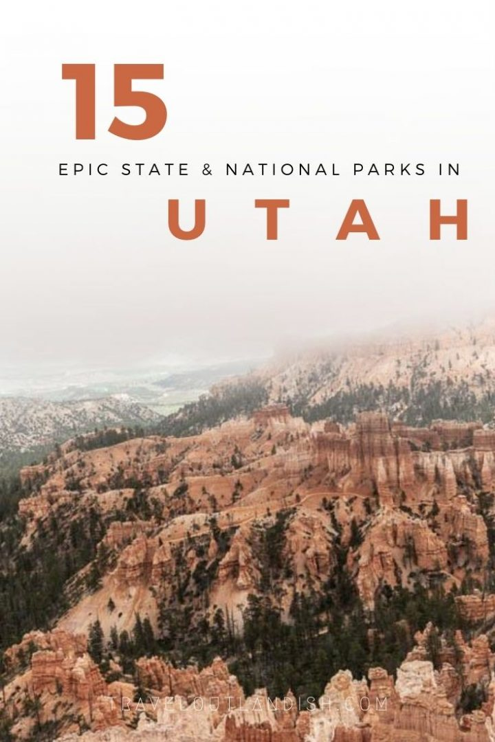 Just starting out with your Southwestern Road Trip? From Zion to Bryce to Canyonlands and beyond, here are 15 of the best State Parks & National Parks in Utah (plus a few cheats that should be National Parks!) including what the parks are known for, what to expect, and what makes them so special.